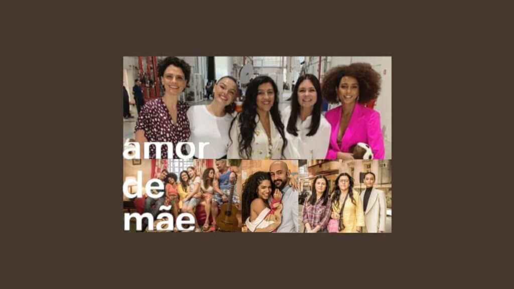 Novela Amor de Mãe, exibida pela Globo no seu horário das nove